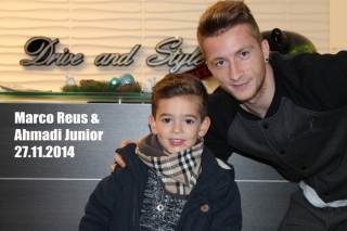 Marco Reus & Ahmadi Junior